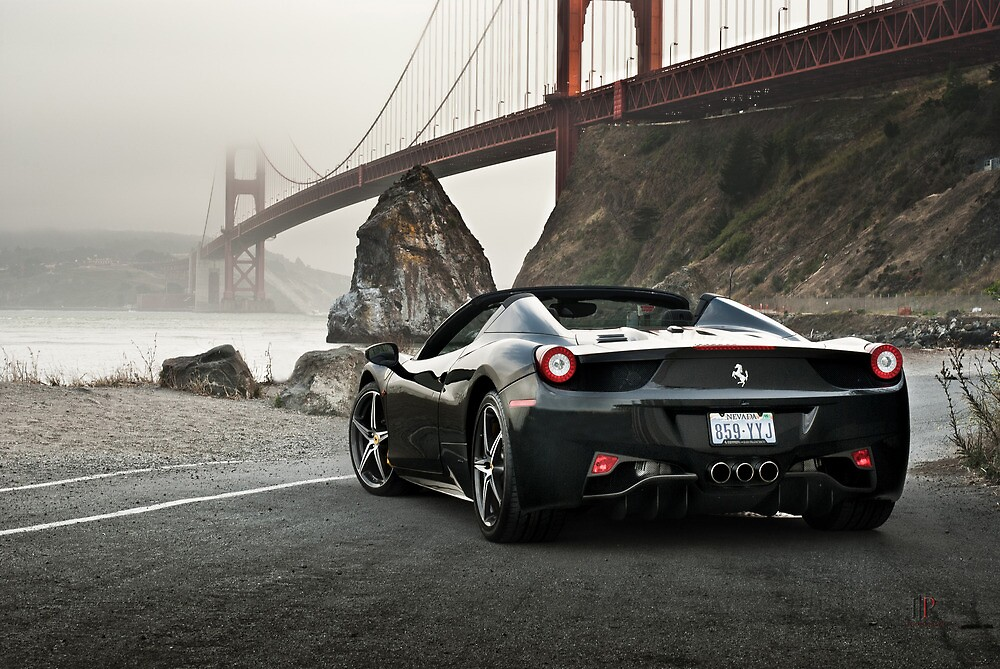Ferrari 458 Spider | Golden Gate by Gil Folk