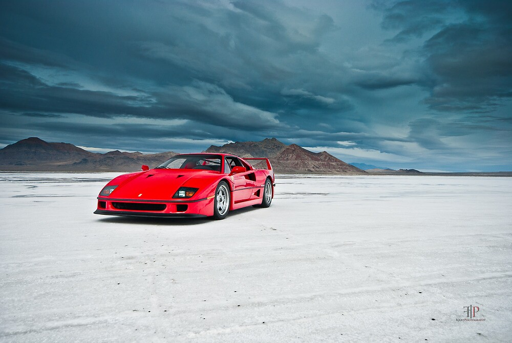 Ferrari F40 | Incoming Storm by Gil Folk