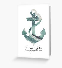 Anchors Aweigh Greeting Card