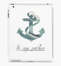 Anchors Aweigh iPad Case/Skin