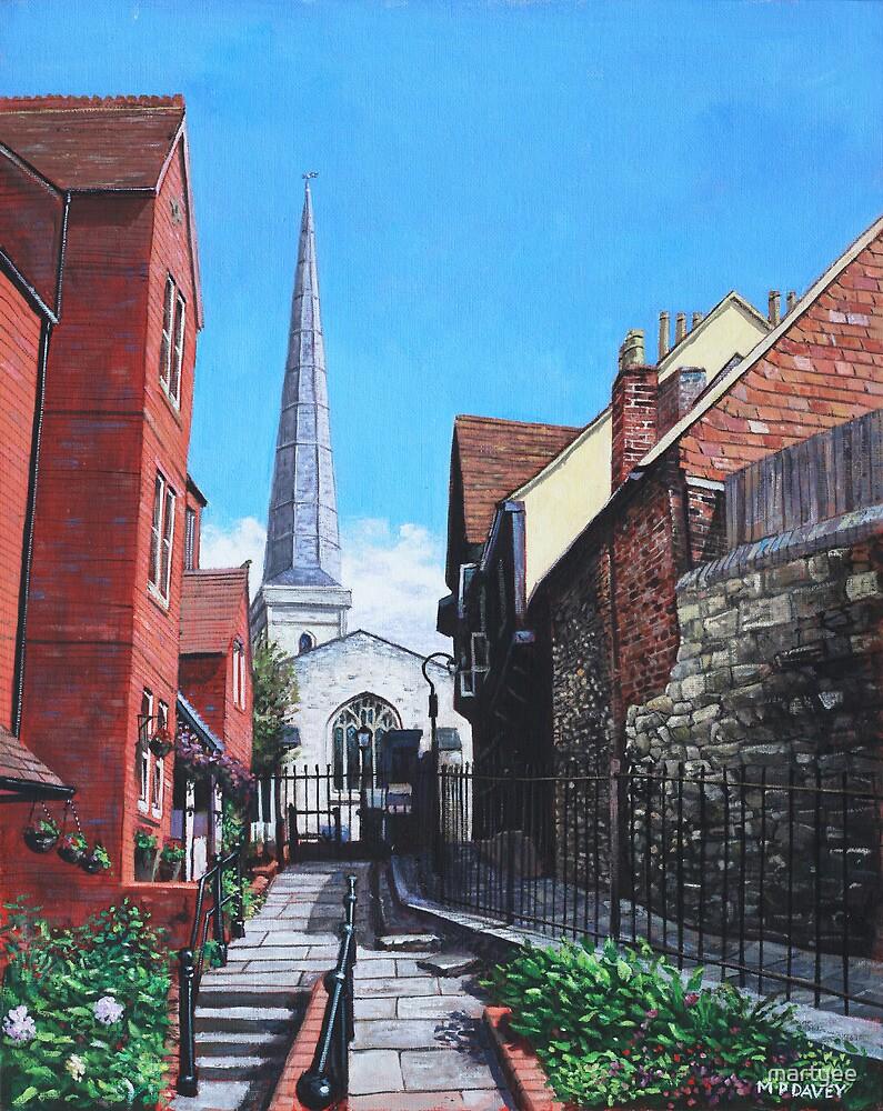 Southampton Blue Anchor Lane by martyee