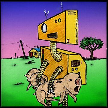 Robot Pig Squeezer by vibeakimbo