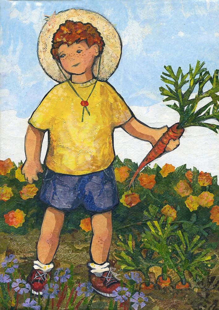 Boy in the Garden by Barbara Nye