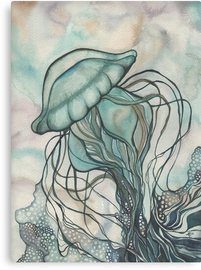 Black Lung Jellyfish by Tamara Phillips