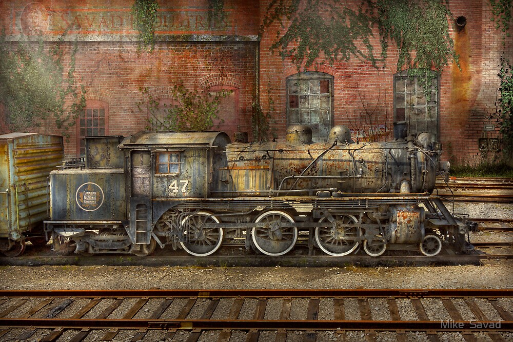 Locomotive - Our old family business by Michael Savad