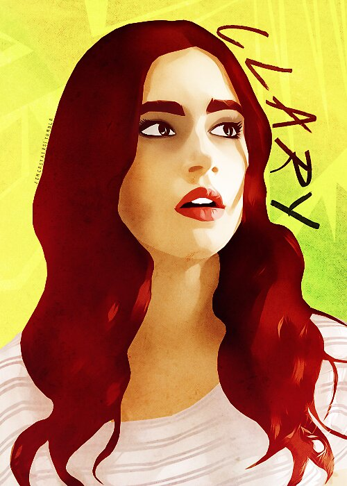 Clary Fray - Vexel Image by itsmichelee