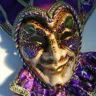 Venetian mask by freshairbaloon