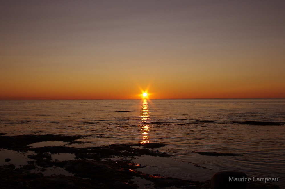 Sunset2 by Maurice Campeau