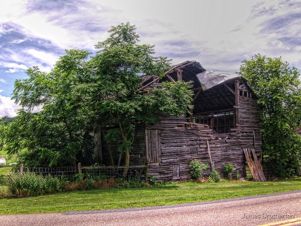 Barn Blowout by James Brotherton