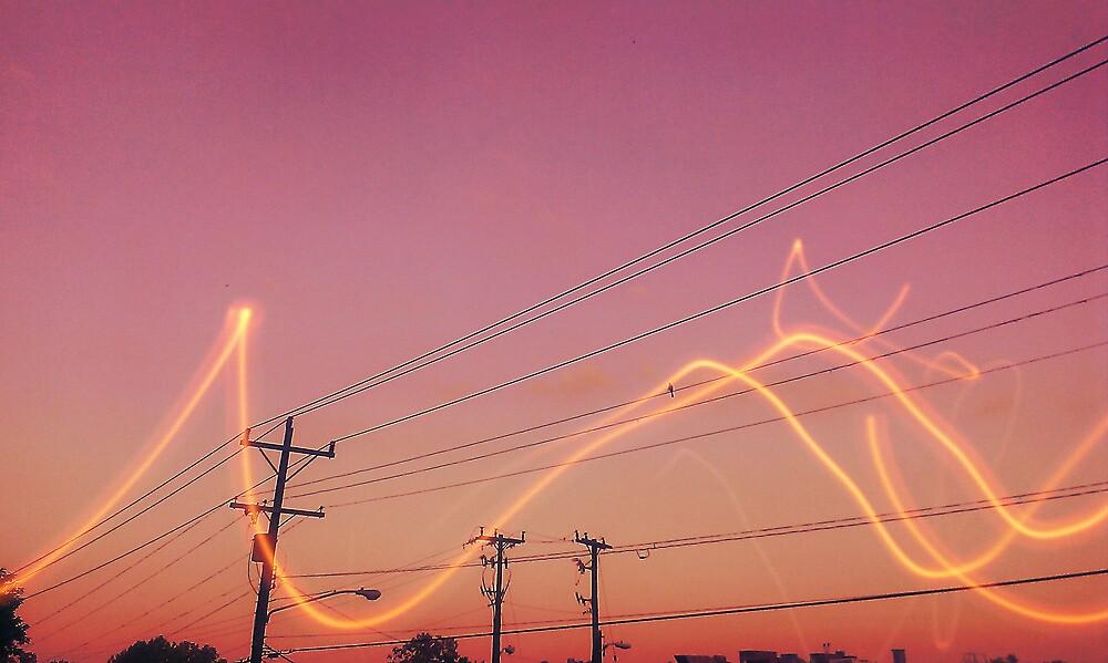 fiery sky by yungpoet