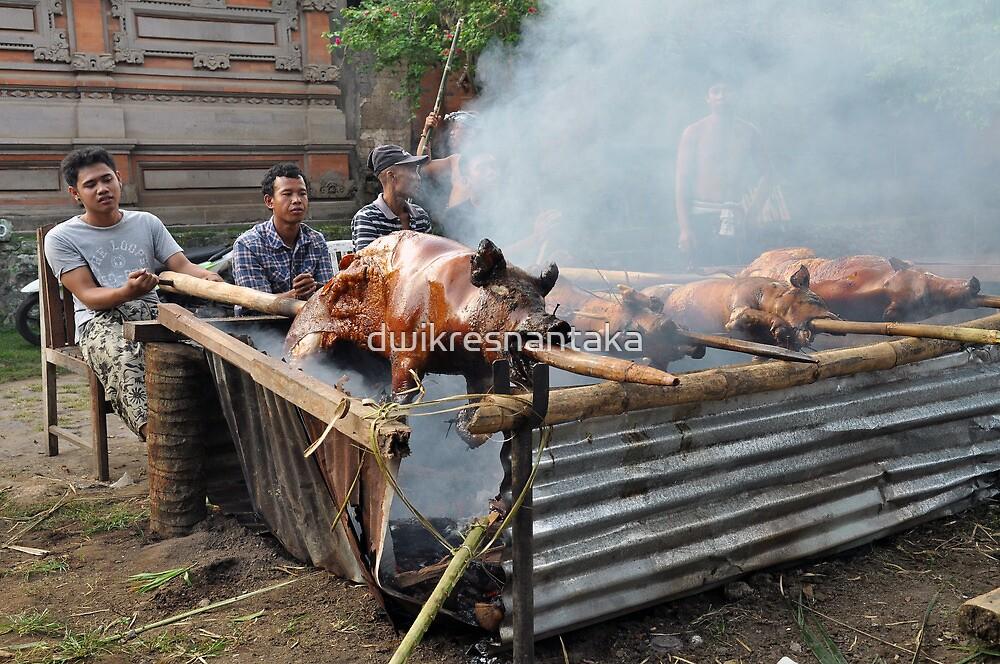 Suckling pig by dwikresnantaka