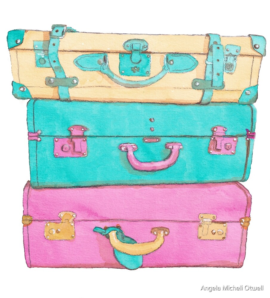 Baggage by Angela Micheli Otwell
