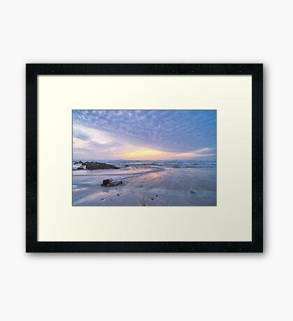 Winter Rush Framed Print