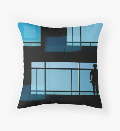 atrium day (aria)  Throw Pillow