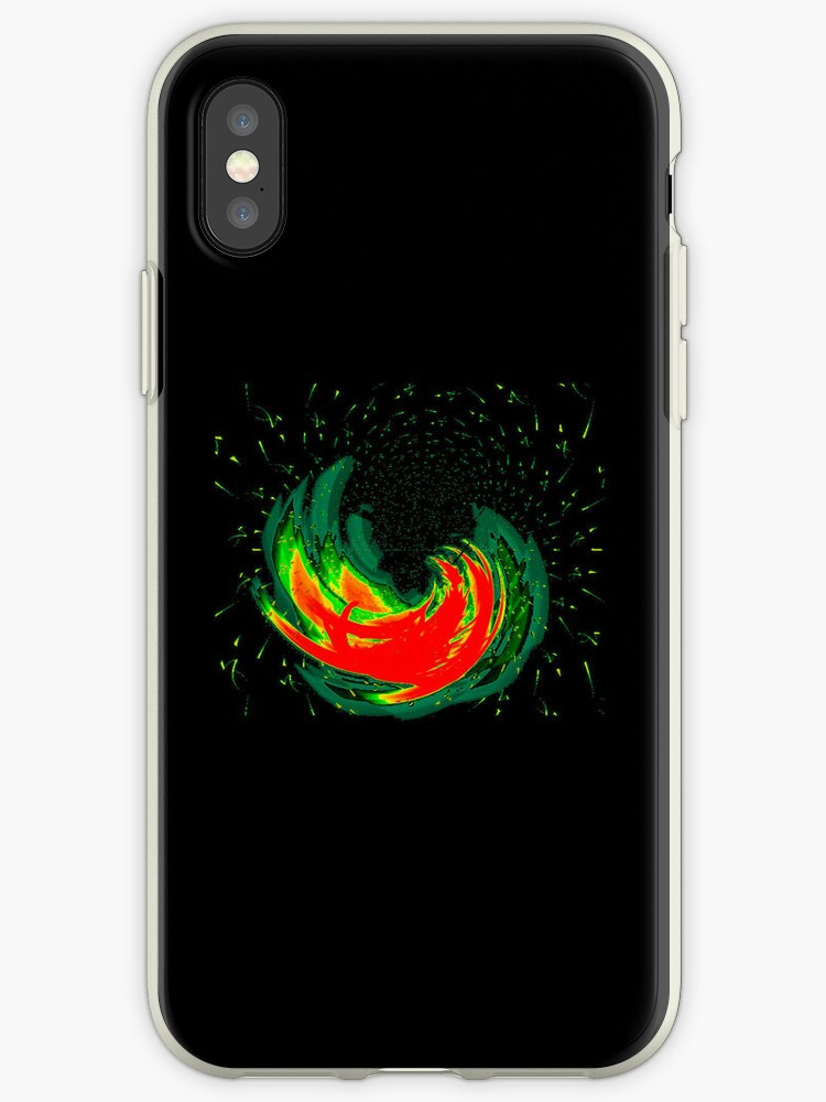 Hurricane Fire iPhone Case: The Sequel  by TheTubbyLife