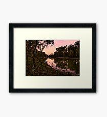Murrumbidgee river  Framed Print