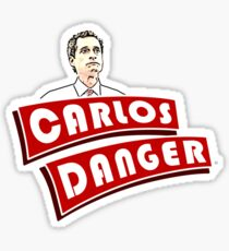 Carlos Danger aka Anthony Weiner T Shirt Sticker