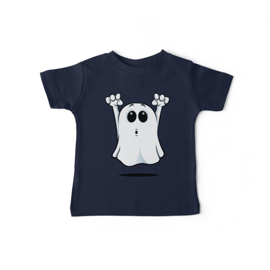 Cartoon Ghost - Going Boo! von DesignWolf