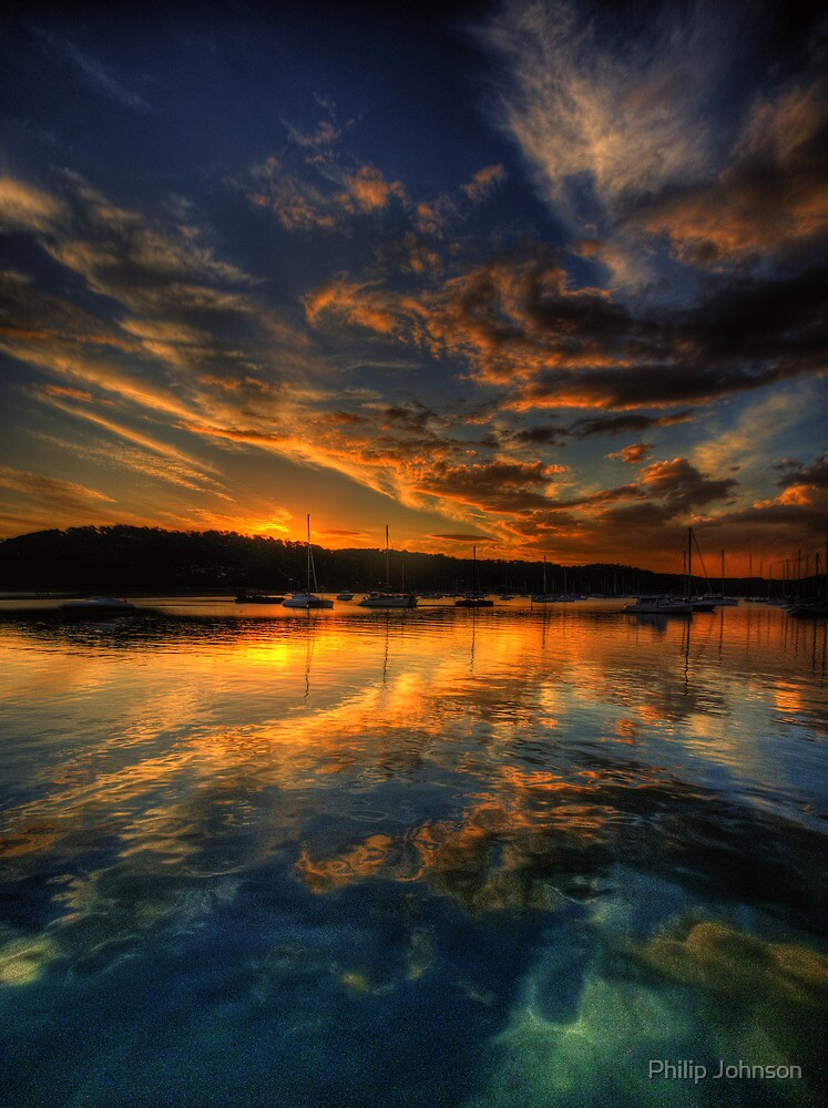 Pittwater Mooring - Newport NSW - The HDR Experience by Philip Johnson