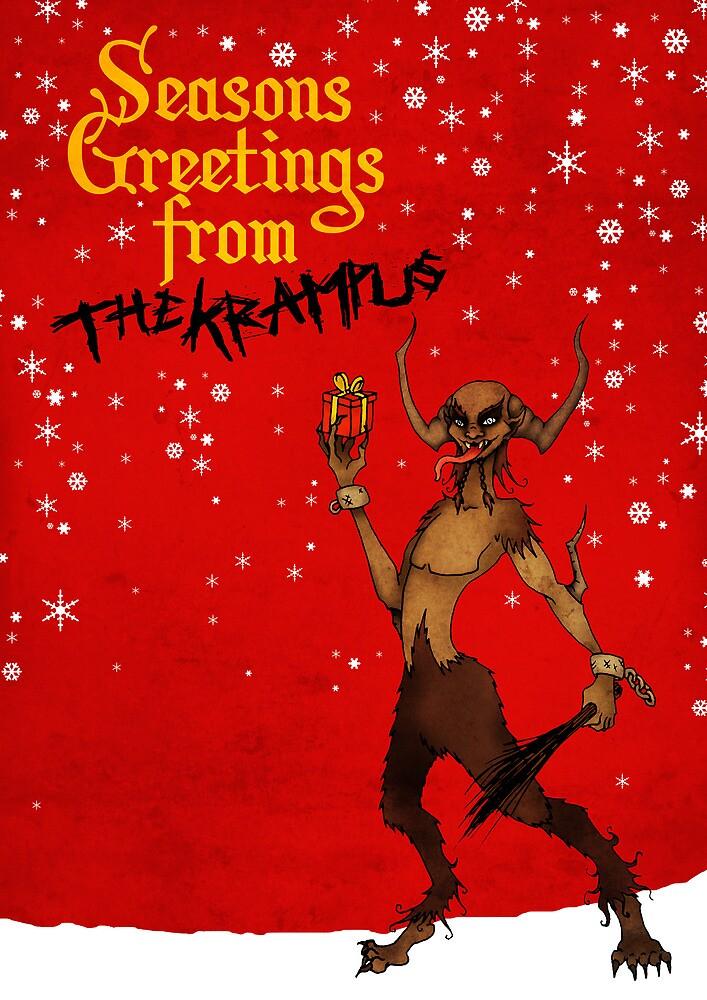 Seasons Greetings from The Krampus by Luke Barclay