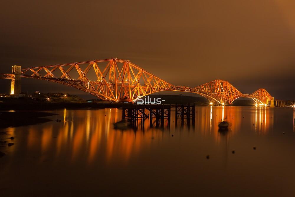 The Forth Rail Bridge by -Silus-