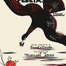 VENI PEBETA   (vintage illustration) by ART INSPIRED BY MUSIC