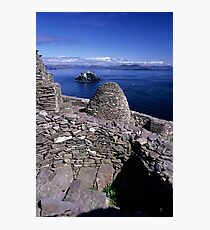 Towards Little Skellig from Skelling Michael Photographic Print