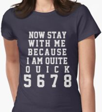 Leeroy #BestSongEver Women's Fitted T-Shirt