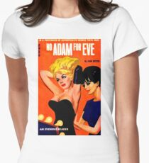 """No Adam For Eve"" Women's Fitted T-Shirt"