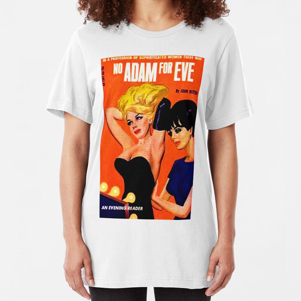 """""""No Adam For Eve"""" Slim Fit T-Shirt"""