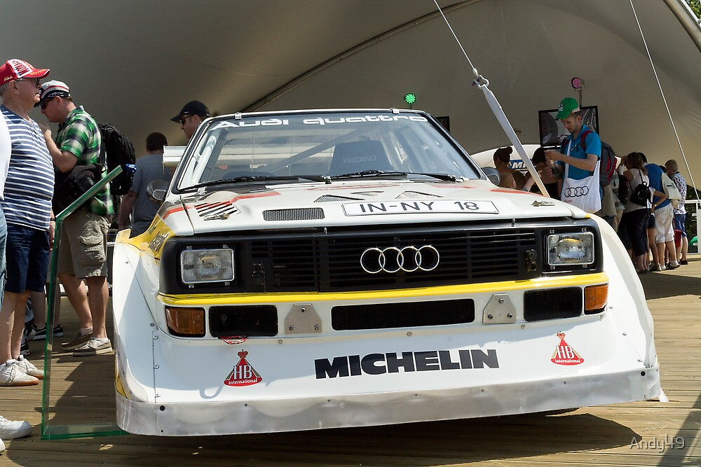 Audi  Quattro  by Andy49