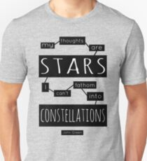 """TFiOS: """"My Thoughts Are Stars"""" Unisex T-Shirt"""