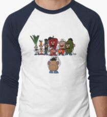 Potato family Men's Baseball ¾ T-Shirt