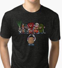 Potato family Tri-blend T-Shirt