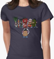 Potato family Women's Fitted T-Shirt