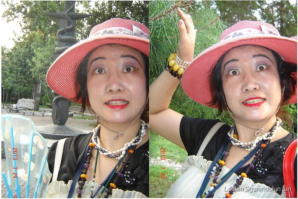 Combien que je suis beaux, heureux, content, joli, enchante, ivre, travailleur, tant mieux, fier, cueillant, remarquable toujours a Tsinghua Universite! Merci!  by Lanlan Sgwendolyn Lin