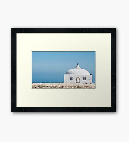 Cabo Espichel Framed Print