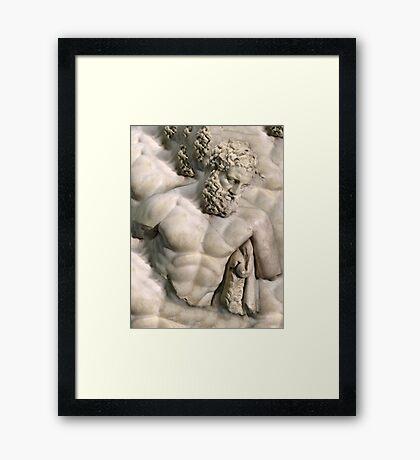 pbbyc - Weary Herakles Framed Print