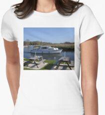 Norfolk Broads Cruiser Women's Fitted T-Shirt