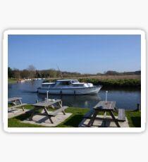 Norfolk Broads Cruiser Sticker