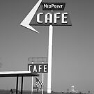 Route 66 - MidPoint Cafe by Frank Romeo
