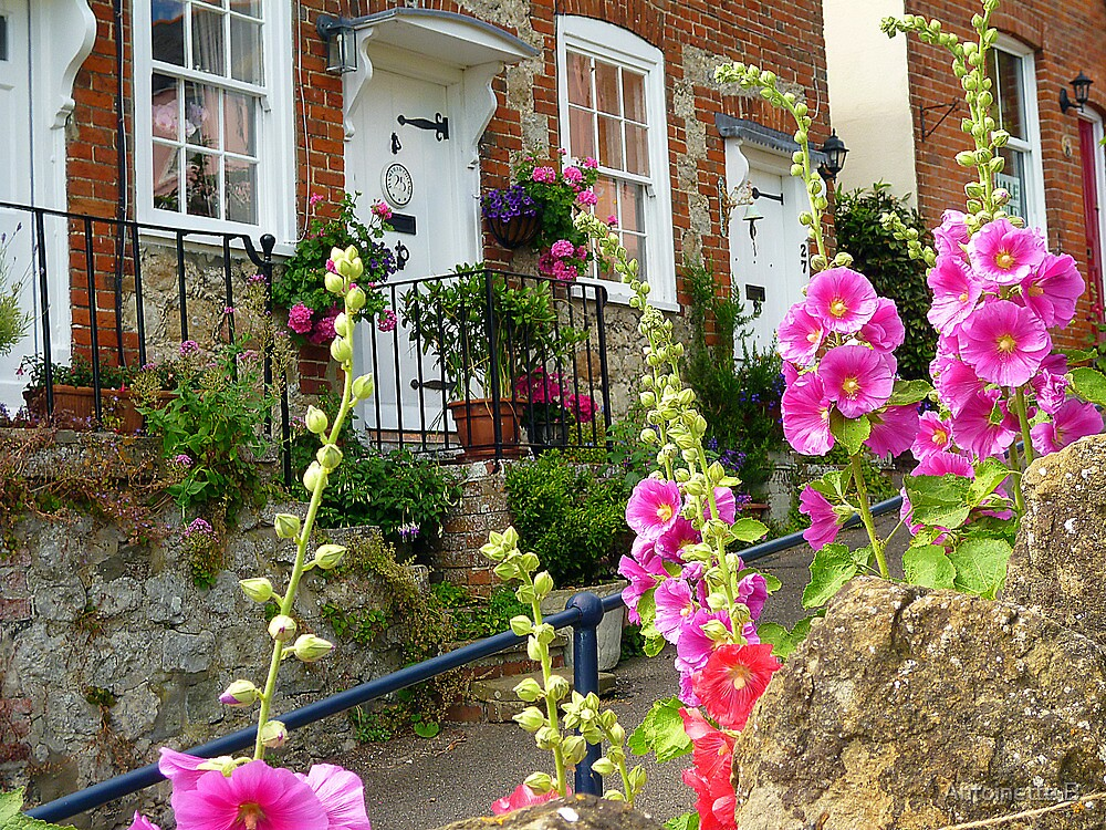 Kentish Cottages by Antoinette B