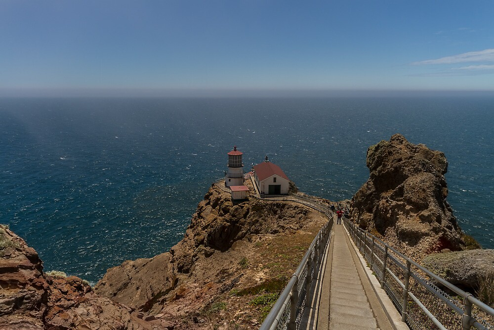 Lighthouse - Point Reyes by Richard Thelen