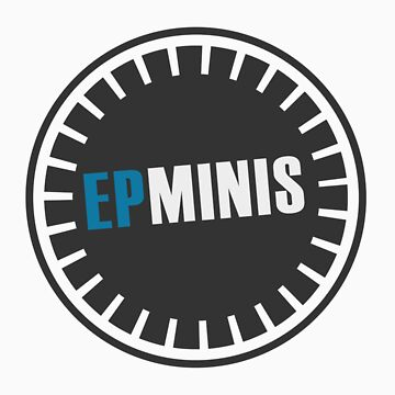 EPMINIS Officially Unofficial logo (in BLUE) by epminis