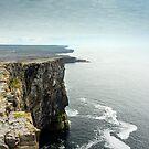 Cliffs at Dun Aengus, Inishmore by Simon Bowen