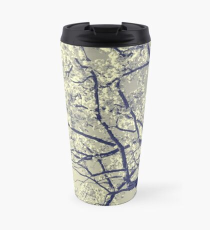 May the flowers fill your heart with beauty Travel Mug