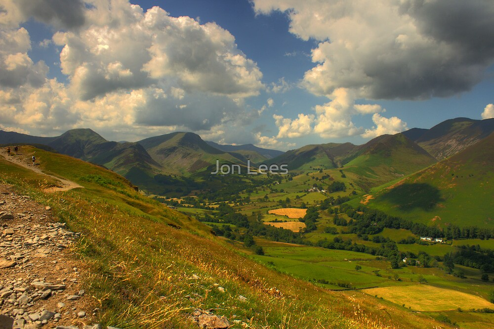 Derwent Fells Cumbria by Jon Lees
