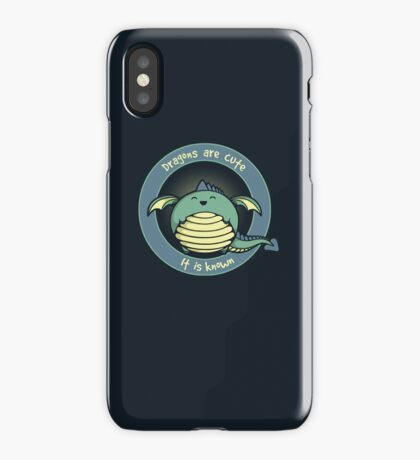 It Is Known iPhone Case/Skin