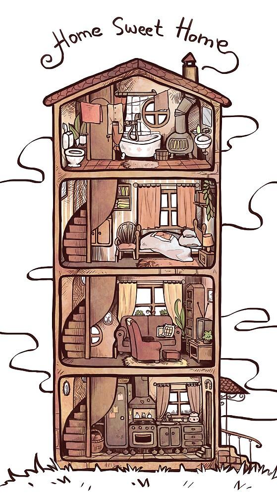 home sweet home by PetitPotato