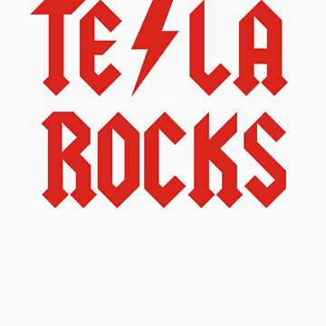 Tesla Rocks by racooon